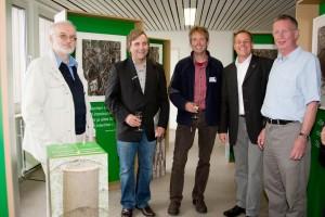v.l.n.r Jens Quedens, Ingo Ludwichoski, Armin Jeß, Frank Timpe und Holger Peters