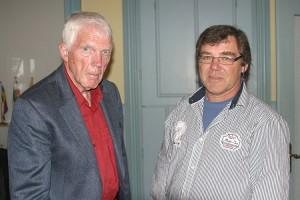 v.l. Hark Thomsen, Volker Langfeld