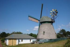 Die Mühle steht im Kreuz...