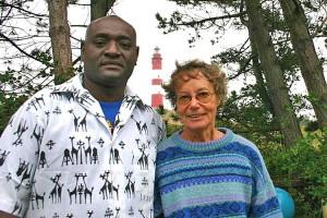 Joseph Sulubu Maitha und Jutta Kaulbach