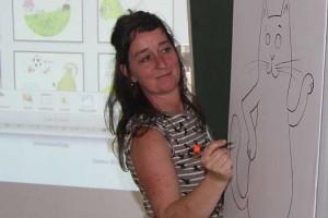 Kinderbuchautorin Franziska Biermann