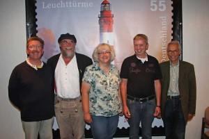 vl. Georg Neisen, Wolfgang Stöck, Heike Zimmermann,Chris Johannsen, Michael Langenhan