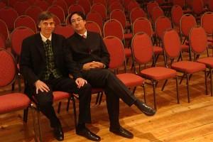 Florian Prey und Rico Gulda