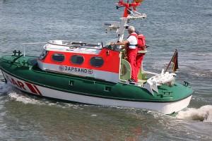 "Tochterboot ""Japsand"" des Rettungskreuzers ""Vormann Leiss"" ..."