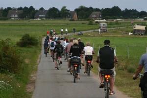 Alle Schauplätze sind ganz bequem mit dem Fahrrad zu erreichen...