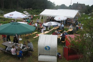 Sommerfest belebt Ual Hööw in Steenodde...