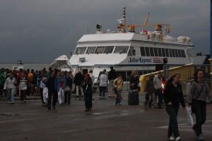 Das Wetter hatte in diesem Jahr starken EInfluss auf den Tagestourismus...