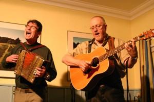 Victor Besch und Ian Bruce