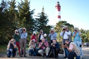Gruppenbild mit Leuchtturm...