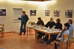 Pastorin Friederike Heinecke begrüßte alle Anwesenden