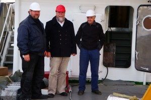 Ingo Jensen, Wolfgang Stöck, Hinrich Ricklefs