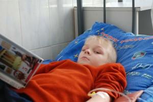 Ein kleiner russischer Patient...