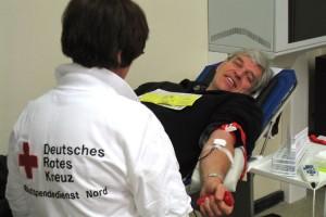 Blutspender Norbert Outzen