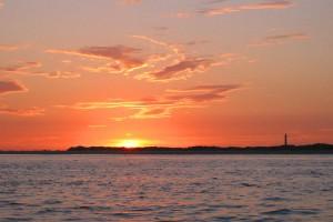Sonnenuntergang über Amrum