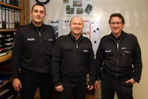 vl. ,Gerrit Uhlmann, Ingo Reyher, Ralf Klein