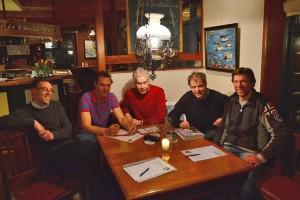 Der Vorstand des TSV-Amrum