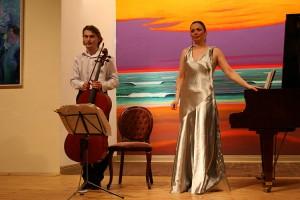 Alina Kabanova und Fjodor Elesin