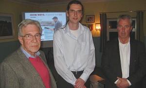 J. Jungclaus, Norbert Hill Gsf. Lünecom, Ralph Fritz Gsf. OFP
