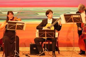 Musikalisches Können eindrucksvoll demonstriert...
