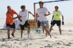 """Der Sand machte das Laufen zu einer """"tief-gründigen"""" Herausforderung..."""