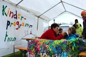 Gut besucht.... das Kinderprogramm der AmrumTouristik