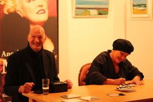 Angelika Milster bei der Autogrammstunde