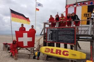 Das DLRG-Team in Nebel