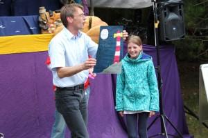 Veranstaltungsleiter Michael Hoff ehrte die Sieger...