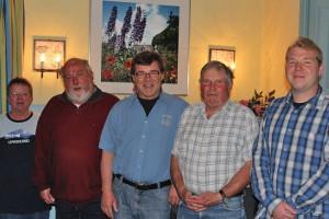 Der Vorstand des Mühlenvereins