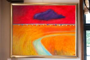 Kräftige Farben sind ein Merkmal für Panschos Bilder