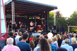 Die Amrumer Soulband erfreute die Gäste in Norddorf und Nebel
