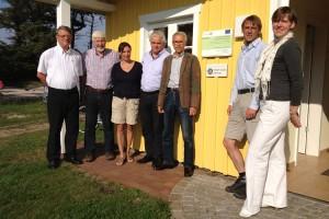 v.l. Ralf Simon, Kurt Tönissen, Carmen Klein, Freddy Flor, Michael Langenhan, Michael Hoff und Birte Schreiber