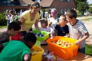 Tolles Sommerfest des Inselkindergartens...