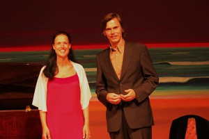 Sopranistin Andrea Basten  und Bariton Florian Prey