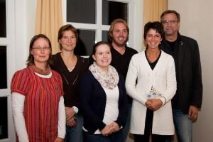 v.l. Nicole Adolph, Julia Kruggel, Katrin Schmale, Tobias Lankers, Marcia Schlichting und Norbert Gades