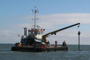 """Bohrproben von Bord der """"Coastal Hunter"""" ..."""