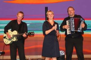 """Das Trio """"Hafennacht"""" aus der Hansestadt Hamburg"""