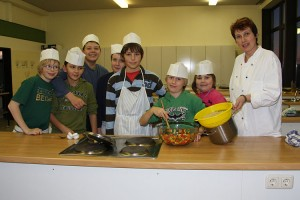 Kochteam mit Claudia Mößmer
