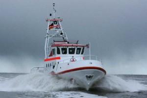 Der Seenotkreuzer EISWETTE war in der Nacht von Samstag auf Sonntag (3./4.11.12) mehrere Stunden im Einsatz für eine gestrandete Segelyacht vor Nordfriesland (Archivbild).