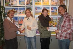 Sabina Pallas, Stephanie Beiß, Annika Meister, Susanne Meister
