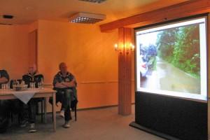 Auf der Sitzung gezeigte Bilder dokumentieren die Sachlage...