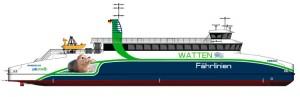 So könnten die neuen Fähren aussehen...