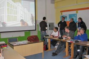 Rotary-Delegation überzeugte sich vom Einsatz ihrer Spenden...