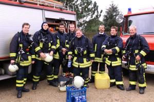 Ohne Atemschutzgeräteträger geht nichts bei der Feuerwehr...