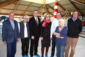 Minister Breitner und Dr. Gitta Trauernicht mit dem SPD Ortsverein