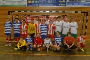 Die C-Jugend in Wittenberg