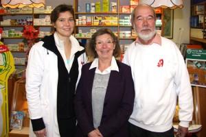 vl. Julia Kruggel mit Christine und Dr. Jürgen Kruggel