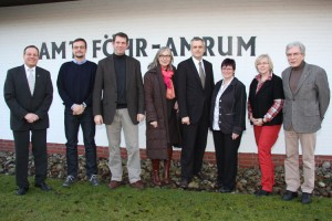 v.l. Frank Timpe, Christoh Decker, Bernd Dell-Missier, Dr. Gitta Trauernicht, Andreas Breitner, Heidi Braun, Renate Gehrmann, Jürgen Jungclaus