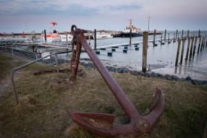Noch ist alles sehr ruhig im Seezeichenhafen aber die neuen Schwimmstege warten schon auf Bootbesuch