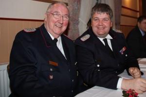 Ehrengast Peter Martinen und Christian Albertsen